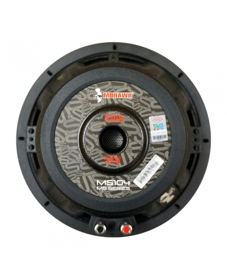 Mohawk Silver 10 inch Single Voice Coil Subwoofer