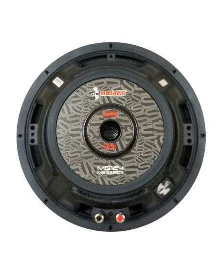 Mohawk Silver 12 inch Single Voice Coil Subwoofer