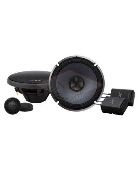 ALPINE X-SERIES 6.5 inch 2-Way Component Speaker