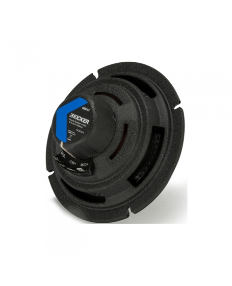 KICKER Car Audio QS SERIES Q-Class 6.75 inch 2-Way Coaxial Speaker with Crossover - 44QSC674