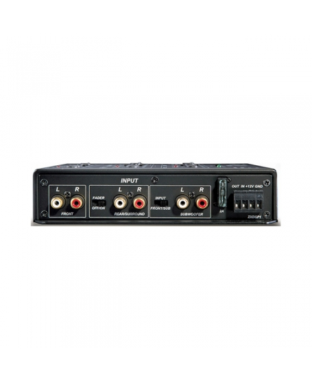 KICKER Car Audio FRONT ROW 6-Channel Signal Processor - 12ZXDSP1