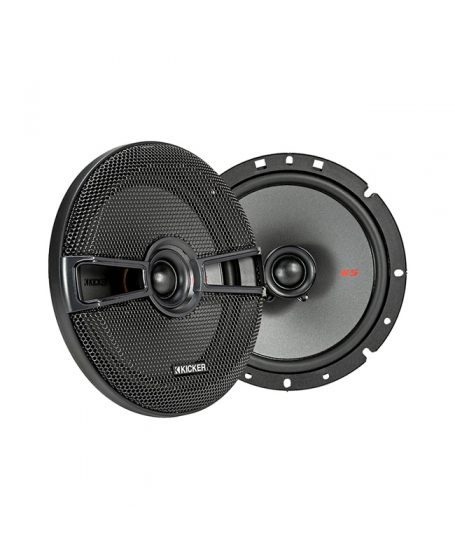 KICKER Car Audio KS SERIES 6.75 inch 2-Ways Coaxial Speaker, 200W - 44KSC6704