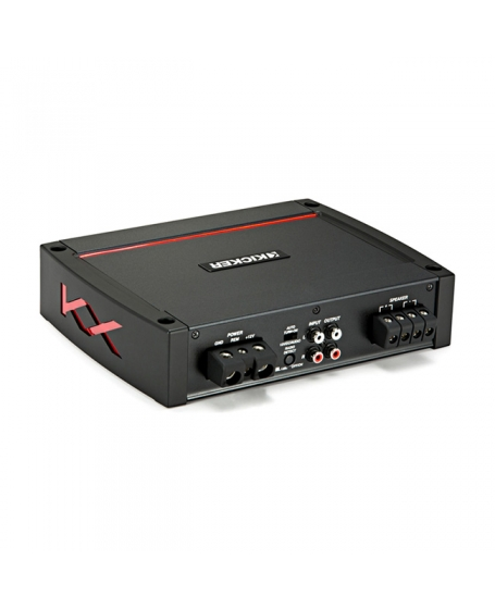 KICKER Car Audio KX SERIES 800W Class D MONO Amplifier - 44KXA800.1