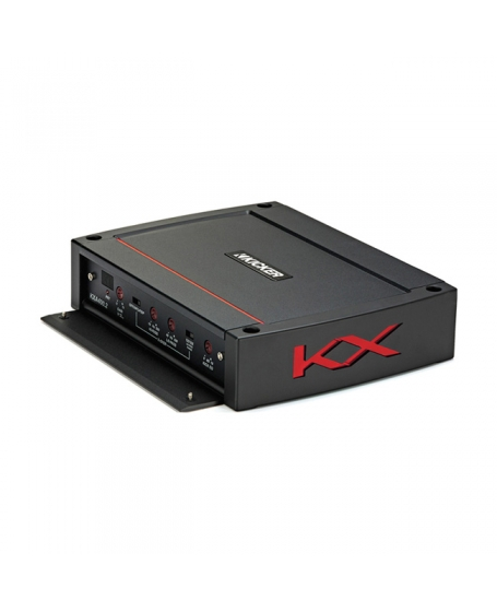 KICKER Car Audio KX SERIES 400W Class D 2-Channel Amplifier - 44KXA400.2