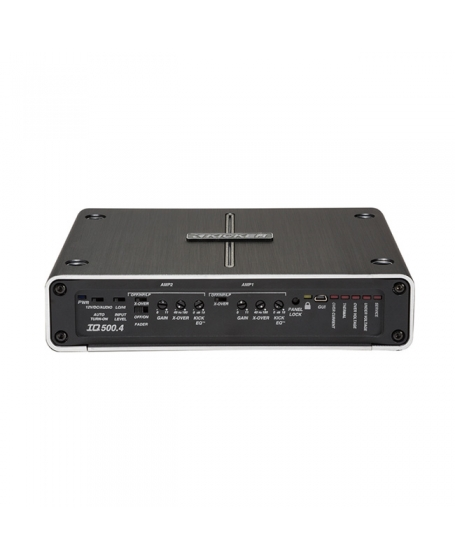 KICKER Car Audio IQ SERIES Q-Class 500W Class D 4-Channel Amplifier - 42IQ500.4