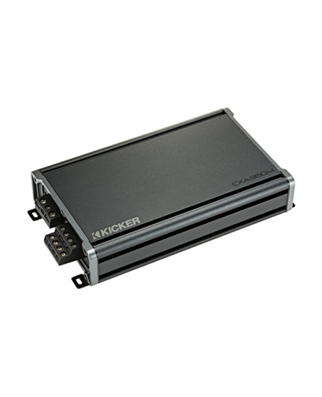 KICKER Car Audio CX SERIES 360W 4 Channel Amplifier - 46CXA3604