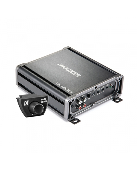 KICKER Car Audio CX SERIES 600W Class D MONO Amplifier - 43CXA600.1