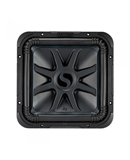 KICKER Car Audio Solo-Baric L7S 12 inch Dual 4 ohm Subwoofer , 1500W - 44L7S124