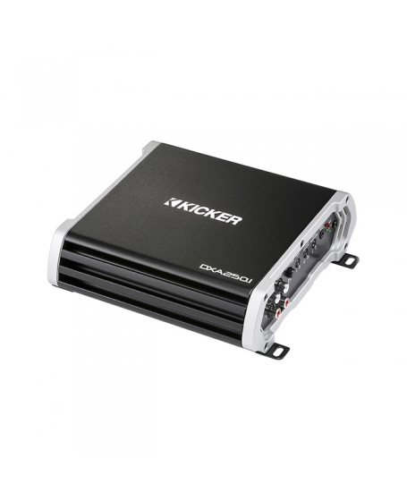 KICKER Car Audio DX SERIES 250W MONO Amplifier - 43DXA250.1