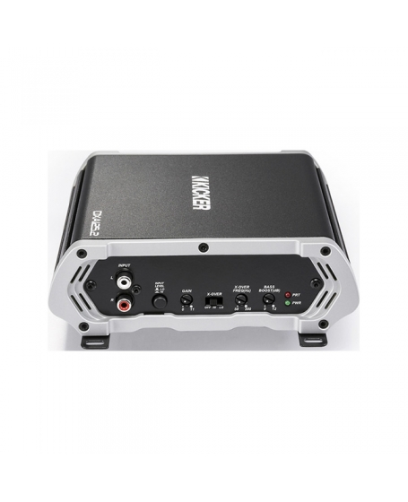 KICKER Car Audio DX SERIES 125W 2-Channel Amplifier - 43DXA125.2
