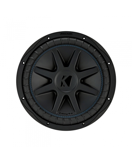 KICKER Car Audio CompVX 12 inch Dual 4 Ohm Subwoofer, 1500W - 44CVX124