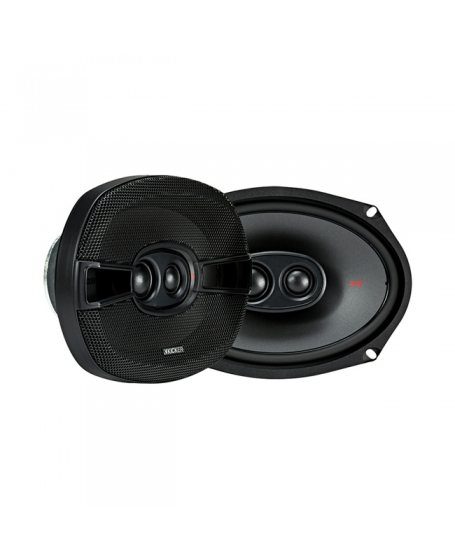 KICKER Car Audio KS SERIES 6 x 9 inch 3-Way Coaxial Speaker, 300W - 44KSC69304