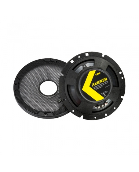 KICKER Car Audio CS SERIES 6.75 inch 2-Way Component Speaker, 300W - 46CSS674 NEW 2019