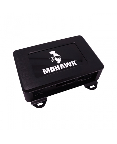 MOHAWK Car Audio CRYSTAL SERIES 260W Class-D 4-Channel Amplifier with DSP ( Cirrus Logic ) Digital S