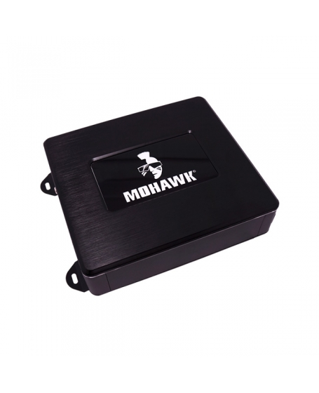 MOHAWK Car Audio CRYSTAL SERIES 500W Class-D 4-Channel Amplifier with DSP ( X-CONTROL ) Digital Sign