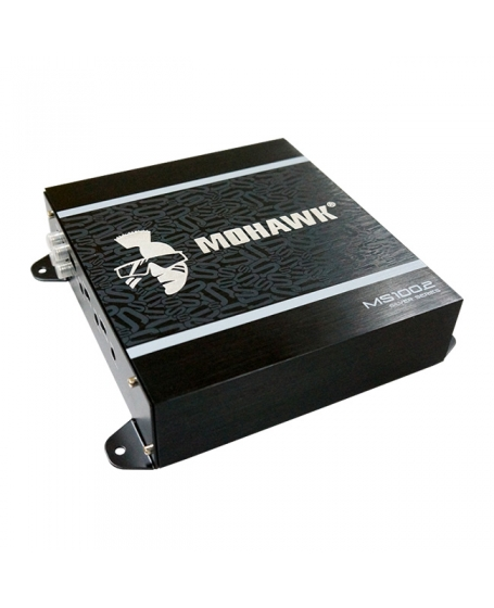 MOHAWK Car Audio SILVER SERIES 130W 2 Channel Amplifier - MS100.2 2019 NEW