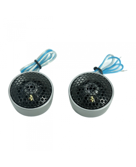 MOHAWK Car Audio CRYSTAL SERIES 28mm Silk Dome Tweeter, 120W - MC1