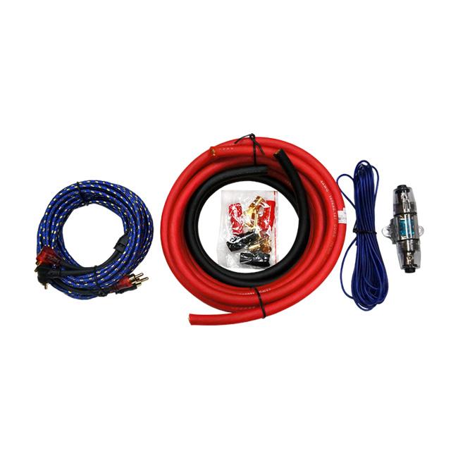 MOHAWK Car Audio ZERO NOISE 4GA Amplifier Kits - MAK4ZN