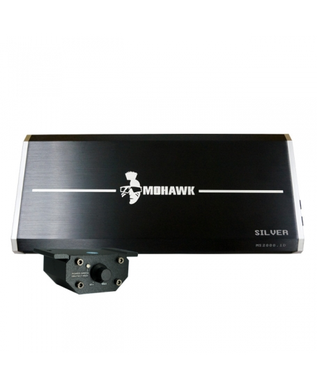 MOHAWK Car Audio SILVER SERIES 2000W Class D MONO Amplifier - MS2000.1D