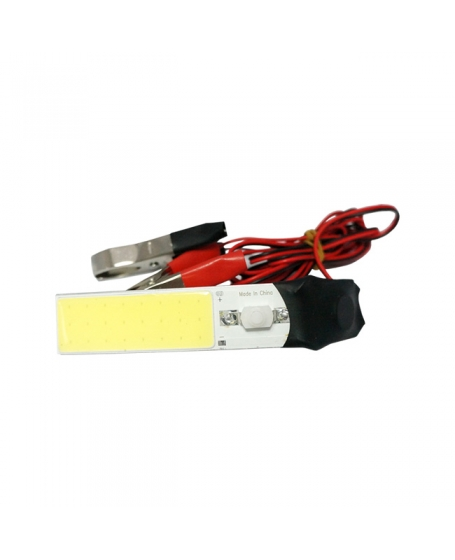 Accessories OEM Universal 24 COB LED Torchlight with 12V Battery Clip