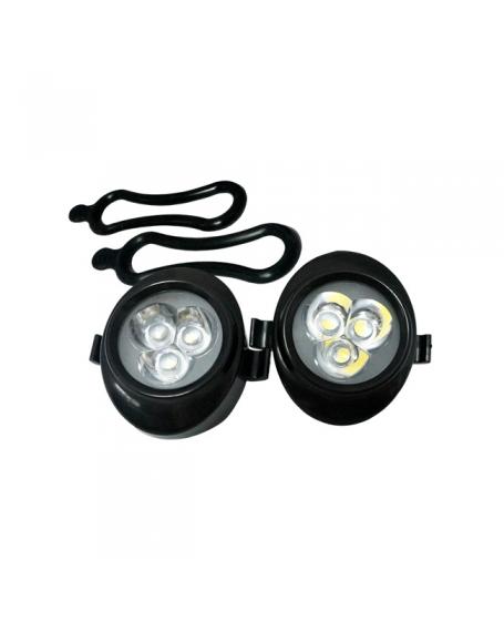 Accessories OEM Universal 3 LED Light WHITE