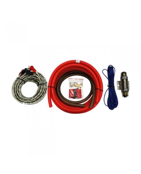 MOHAWK Car Audio LOW NOISE 4GA Amplifier Kits - MAK4LN