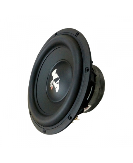 MOHAWK Car Audio PLATINUM SERIES 10 inch SVC SQ Subwoofer with Wooden Box, 350W