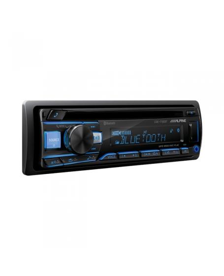 ALPINE Car Audio CDE-163EBT CD / USB Receiver with Advanced Bluetooth