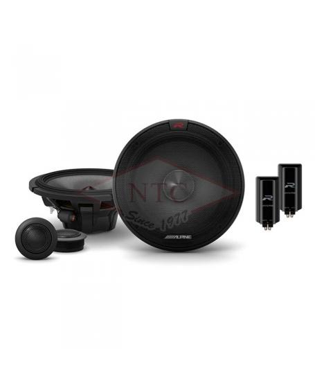 ALPINE Car Audio R-S65C.2 R-SERIES 6.5 inch 2-Way Component Speaker