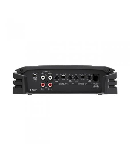 ALPINE Car Audio S-A32F S-SERIES 4 Channel Power Amplifier