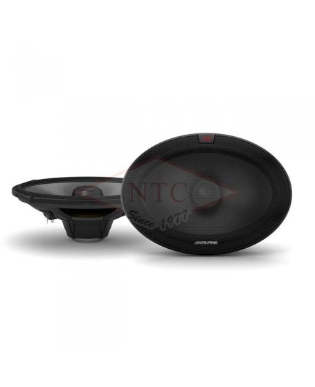 ALPINE Car Audio R-S69.2 R-SERIES 6X9 inch 2-Way Coaxial Speaker