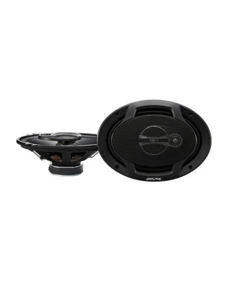 ALPINE Car Audio SPJ-691C3 J-SERIES 6X9 inch 3-Way Coaxial Speaker