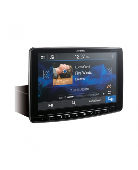ALPINE Car Audio iLX-F269E Halo9 9 inch WVGA Floating Display Multimedia Station with HDMI IN/OUT