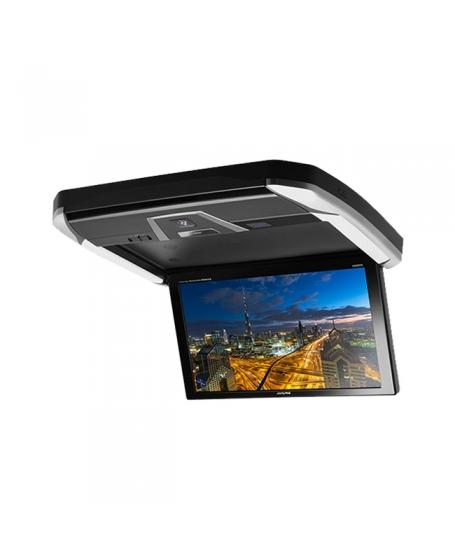 ALPINE Car Audio PXH12X-R-AV 12.8 inch WXGA Overhead Monitor Rear Seat Entertainment with PLASMA CLU