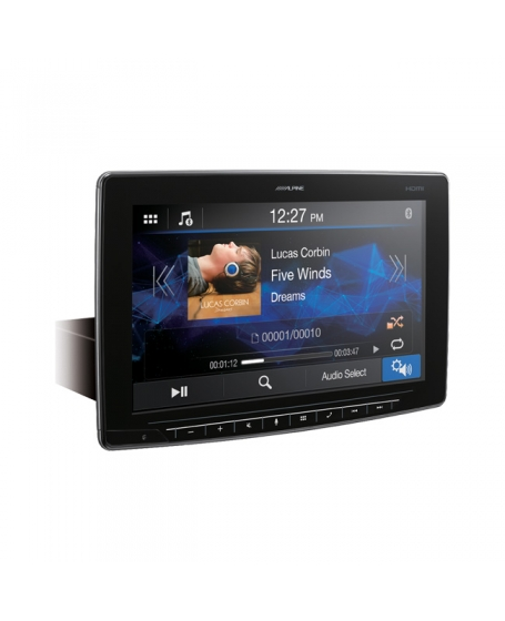 ALPINE Car Audio iLX-F2611E Halo11 11 inch WVGA Floating Display Multimedia Station with HDMI IN/OUT