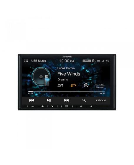 ALPINE Car Audio iLX-W660E 7 inch Audio / Video Receiver 2 DIN