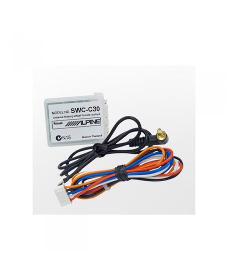 ALPINE Car Audio SWC-C30 UNIVERSAL Steering Wheel REMOTE INTERFACE