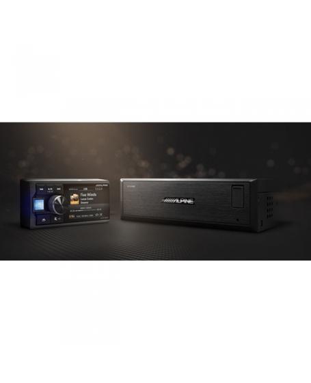 ALPINE Car Audio UTX-M08 Hi-Res Audio Media Player for high sound quality upgrade - DSD / FLAC / APE