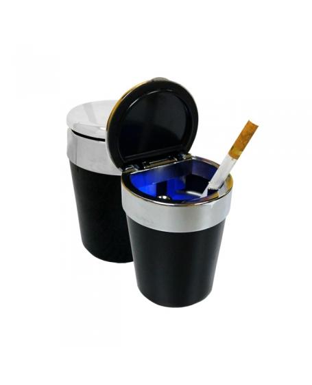 MOHAWK Accessories LED Universal Ashtray Black