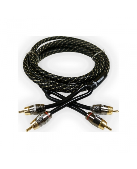 MOHAWK Car Audio Accessories The Ultimate Low Noise RCA Cable, 1M